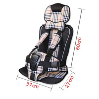 Top Selling Portable Baby Car Safety Seat Big Size 7 Colours Car Seat Children Chairs In