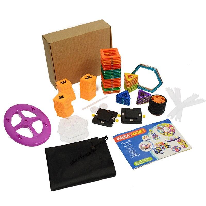 100pcs Magnetic Blocks Funny DIY Mini Magnetic Models Building Block Designer Construction Set Educational Toys For Kids Gift exerpeutic 1000 magnetic hig capacity recumbent exercise bike for seniors