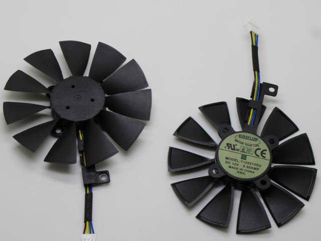 T129215SU 88MM 4Pin Cooler Fans For ASUS GTX 1060 3GB/ GTX ROG STRIX 1070  GAIMIG/1080ti Gaming Graphics Card Cooling Fan