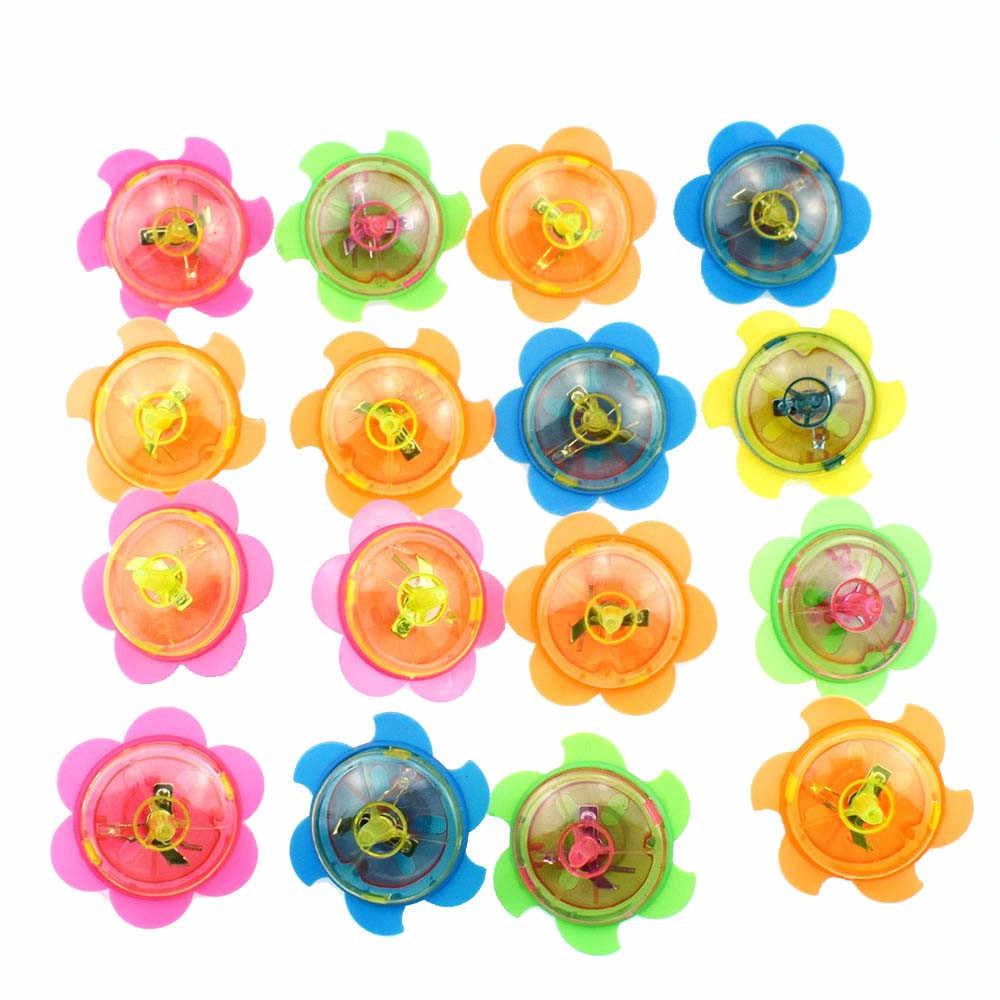 Speelgoed Voor Kinderen Grappige LED Light Up Tiny Toy Fidget Spinner Stress Gift Gyroscop Speelgoed