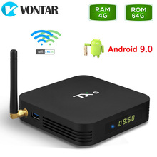 TX6 Android 9.0 Android TV box 4GB 64GB Allwinner H6 Quad Co