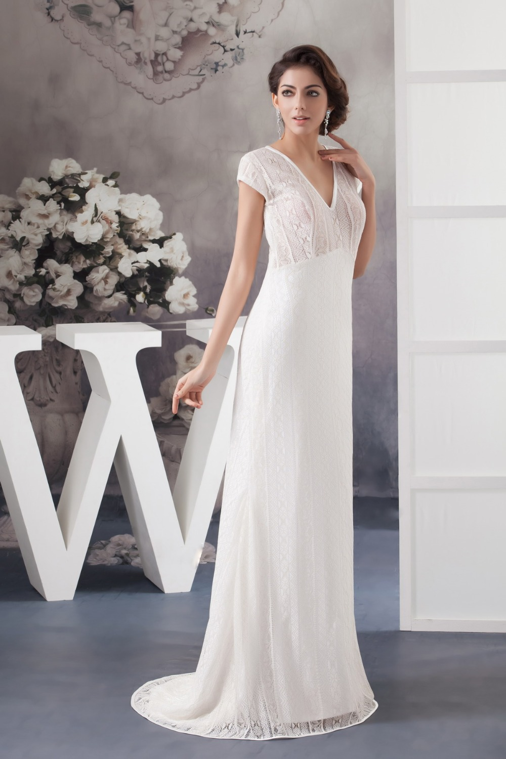 Casual Wedding Gowns For Older Brides 60 Off Dktotal Dk