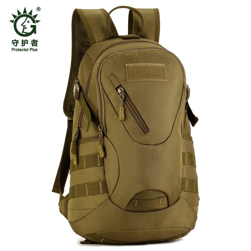 Solid Nylon Rucksacks Outdoor Sport Climbing Camping school bag Trekking Molle travel Bags Military font b