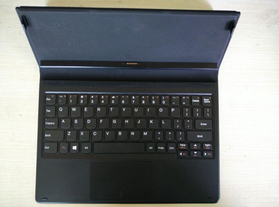 """صفحه کلید چند منظوره رسمی صفحه جلد چرمی مخصوص صفحه کلید Lenovo MiiX 3 10 """"K710 miix3"""
