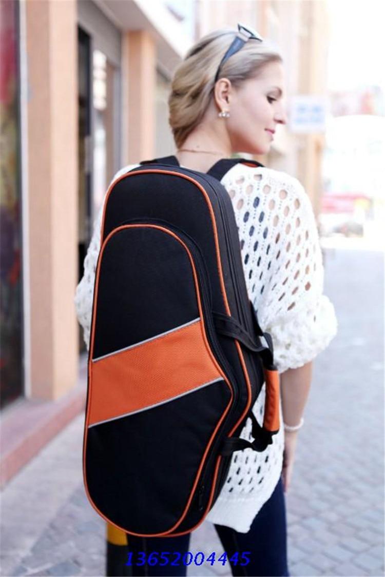 ФОТО Fashion Alto Saxophone bags SAX backpack ( Gig Bag )  estojo sax alto cases e bags para sax adults music toys