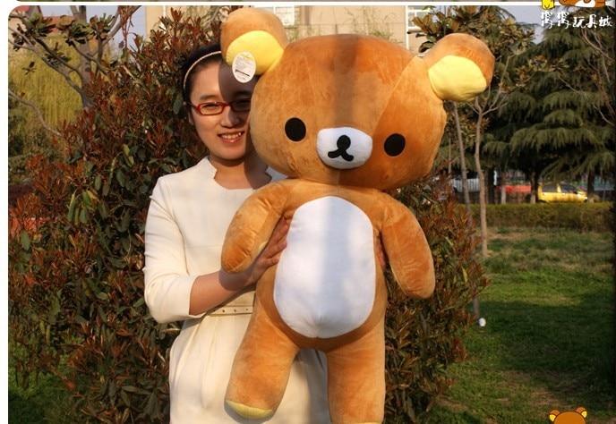 lovely happy bear font b plush b font toy huge easily bear doll cute bear toy