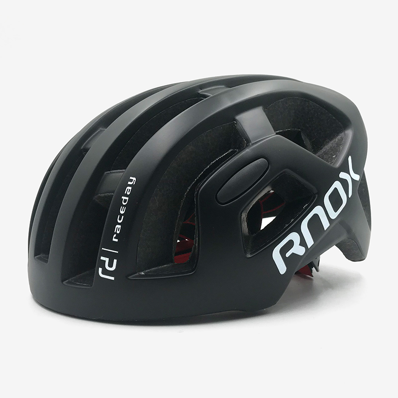 RNOX ultralight cycling helmet city road MTB bicycle helmet Octal black Removable rain cover Casco Ciclismo Racing adult 55 61cm in Bicycle Helmet from Sports Entertainment
