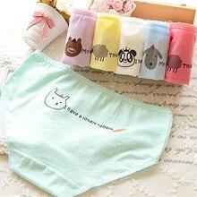 2015 New Wholesale Cotton Underwear Women Panties Brand Tanga Candy Color Calvin Animal Cute Seamless Briefs Calcinha 5NK010