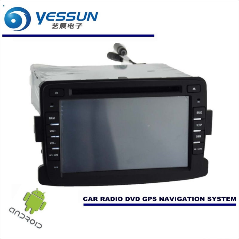 YESSUN Car Android Navigation For Renault Duster / Dacia Duster 2010~2016 - Radio Stereo CD DVD Player GPS Navi BT HD Multimedia android 7 1 car dvd stereo for renault dacia duster sandero lodgy dokker auto radio gps navigation car multimedia with wifi bt