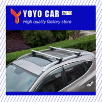 High quality 2 pieces Alumiunium alloy silver color roof cross bar for KUGA kuga