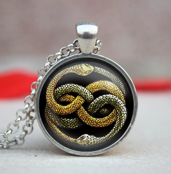2017 new neverending story necklace hogwarts slytherin crest pendant 2017 new neverending story necklace hogwarts slytherin crest pendant jewelry handmade link chains pendants glass dome necklaces in pendant necklaces from mozeypictures Choice Image