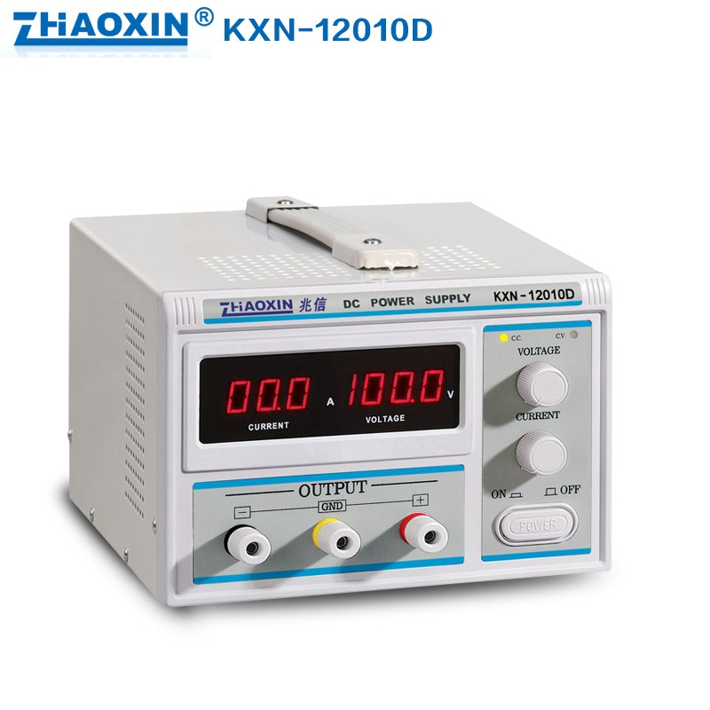 цена на Free shipping ZHAOXIN KXN-12010D digital DC power supply / 120V10A power adjustable power supply