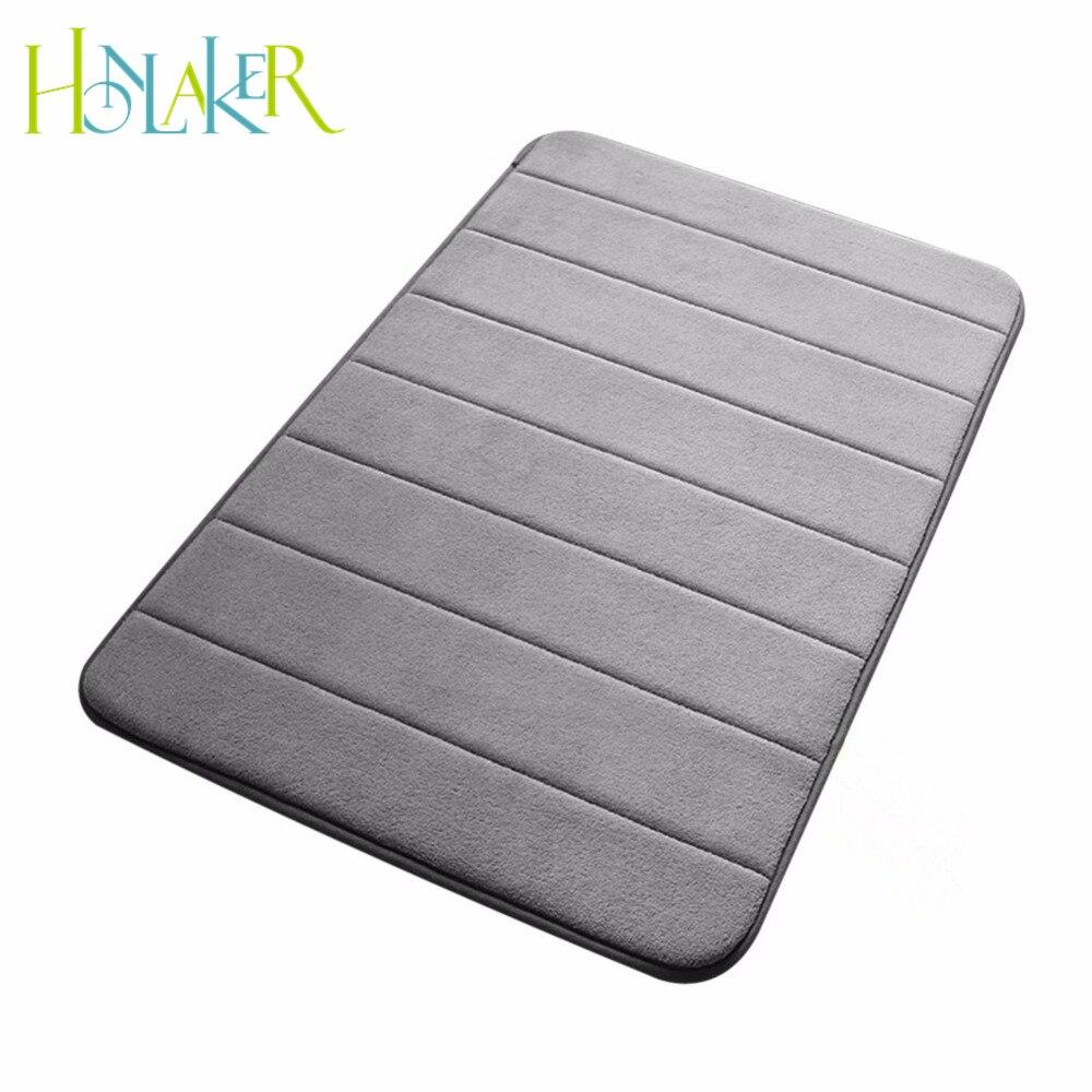 Floor mats super cheap - Soft Bath Mat Memory Foam Non Slip Bath Mats 50 80 Cotton Super Absorbent
