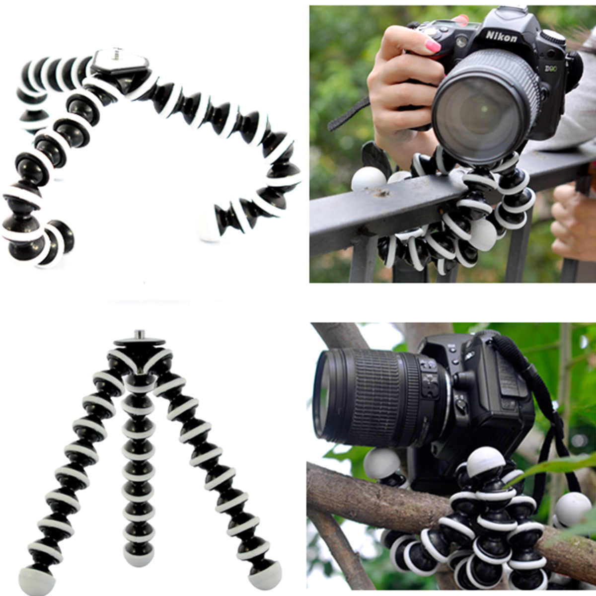 Large Octopus Flexible Tripod Stand Gorillapod for phone telefon Mobile Phone smartphone dslr and camera Table Desk mini tripod yixiang mini flexible octopus tripod for iphone samsung xiaomi huawei mobile phone smartphone tripod camera accessory