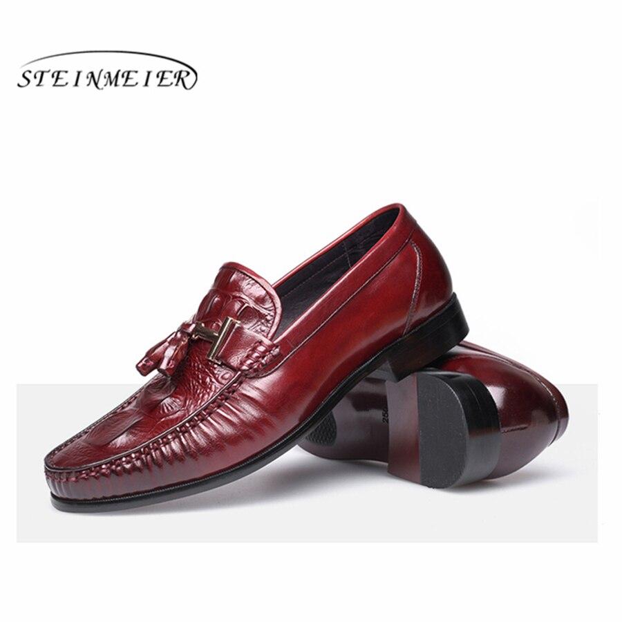 Hombre Mens Oxford Zapatos Red Spogliatoio Uomini Lace Gli Up Per wine  Sesso Nozze Da Di Uomo Abito Scarpe ... 09e2b2f3f4d
