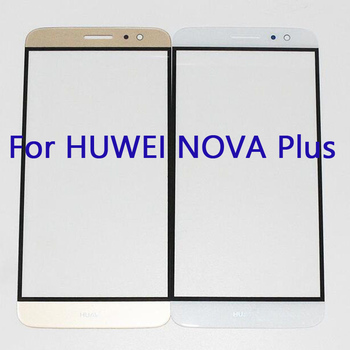For HuaWei NovaPlus 5.5'' Mobile Phone Front Glass touch screen For HuaWei Nova Plus Touch panel Without flex cable image