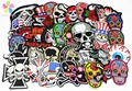 24pcs/lot 5-12cm Iron-on Embroidered Patches skull style DIY Headwear & Sewing Appliques 082007240