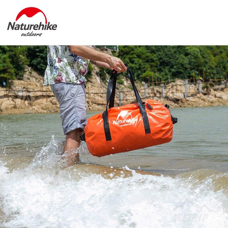 Sac de randonnée naturel 120L rivière sac de randonnée extérieur étanche natation Camping sac de randonnée grande capacité sac ultra-léger multifonctionnel