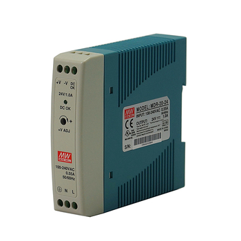 1A Single Output Industrial DIN Rail DC Power Supply selling hot mean well dr 75 48 48v 1 6a meanwell dr 75 48v 76 8w single output industrial din rail power supply
