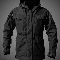M65 Army Clothes Tactical Outdoor Windbreaker Men Winter Autumn Camping Climbing Waterproof Wearproof Windproof Hiking Jackets