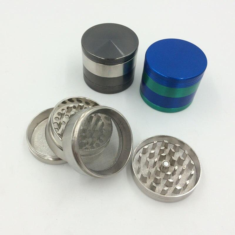 ᗑ】1 stück Aluminium Unkraut Kraut Rauchen Schleifmaschinen Tabak ...