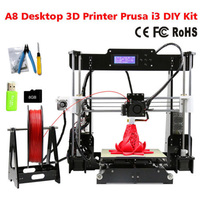 Anet A8 Auto Level Normal 3D Printer 0 4mm Nozzle Prusa I3 Aluminium Hotbed Cheap 3D