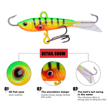4 Pack – Ice Fishing Lure Set – Double Eye