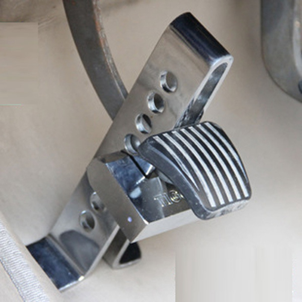 Quality Alloy Steel Car Security Lock Automobile Hidden Anti Theft Brake Throttle Clutch Pedal Lock Auto Anti-theft Accessories