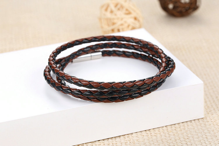 chains new plated trendy men beaded s real for jewelry bracelet stamp bangle vintage product gold bracelets mgc
