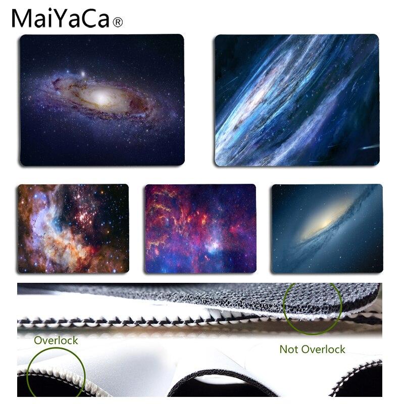 MaiYaCa Нескользящие PC звездное небо геймер Скорость мыши розничной маленький резиновый коврик Размеры для 18x22 см 25x29 см Резиновые Прямоугольн...