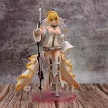 Anime Fate Grande Ordine Servo Saber Sposa Sexy Figura Nero Claudio Abito Da Sposa Ver. PVC Action Figure Giocattoli di Modello della Bambola Regalo
