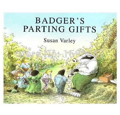 Free shipping 2015 new hot sale badgers parting gifts the original free shipping 2015 new hot sale badgers parting gifts the original english picture books childrens books fandeluxe Images