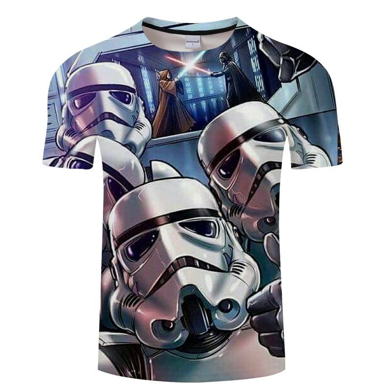 Women & Mens Yoda Cool Dj Hip Hop Star Wars Darth Vader T Shirts Male Cotton Short Sleeve T-shirts Funny Print Shirts S-6XL