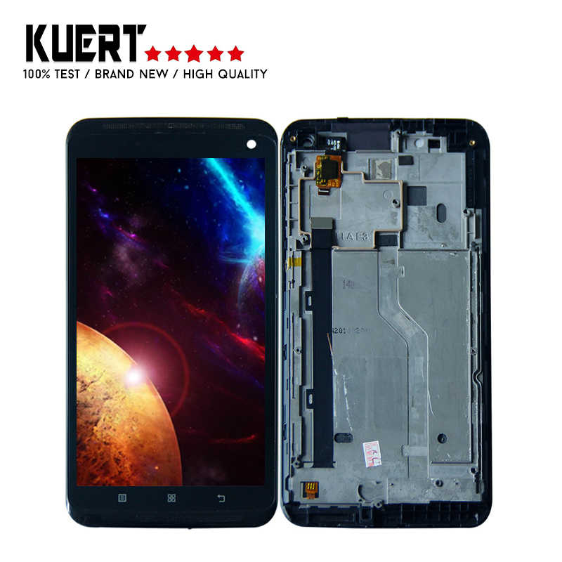 6.0'' LCD For Lenovo S930 Lcd Display Glass Panel Digitizer Touch Screen Assembly With Frame Replacement