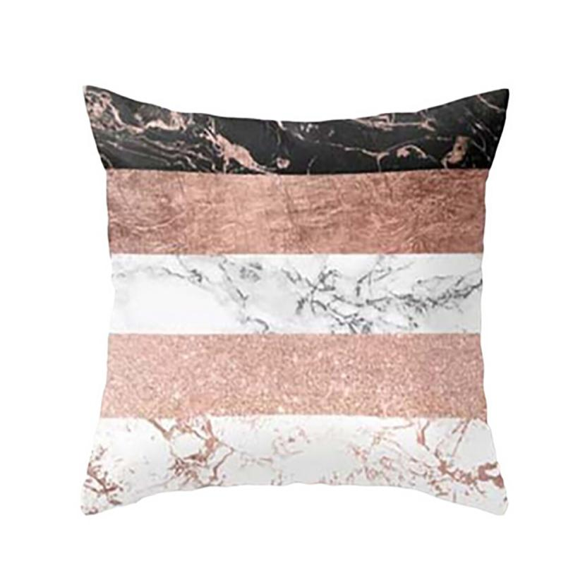 New Geometric Pillow Case Colorful Pillow Cover Home Office Decorative Waist Pillowcases kissenbezug Free Drop Shipping 30p