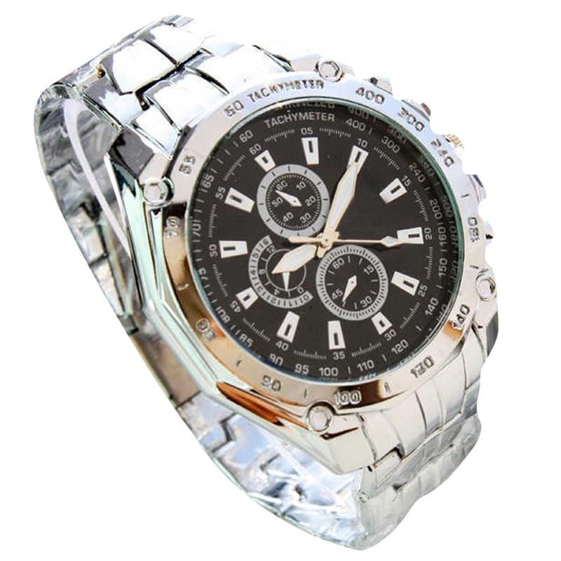 Men Watches 2019 Luxury Brand Three Eyes Six Steel Needle Fashion Business Wristwatch Mens Saat Erkek Kol Saati Heren Horloge