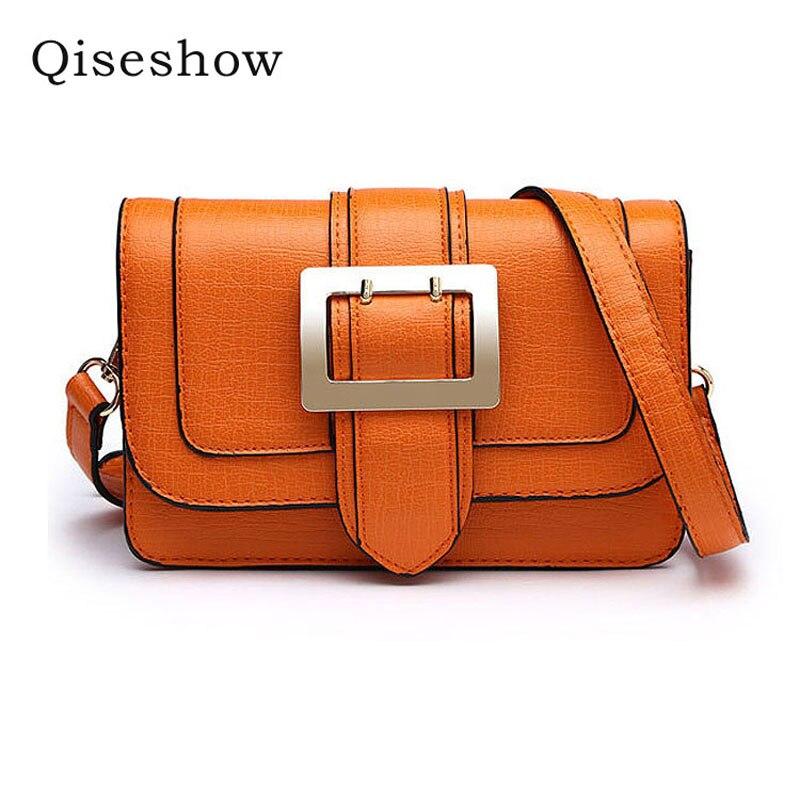 ФОТО High Quality Retro Vintage Women's PU Leather Handbag,Women Leather Handbags ,Women Messenger Shoulder Bags Bolsas Qiseshow