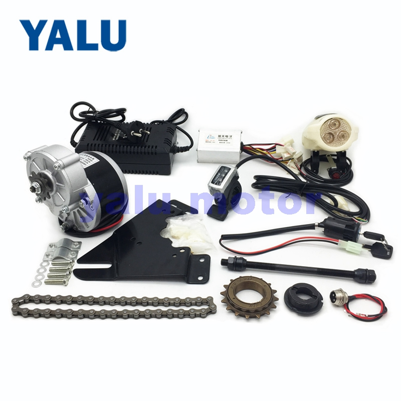24V 250W Economic Simple DIY Electric Bicycle Motor Kit E-BIKE Conversion Kit for Homemade Scooter Cool Modified Bike Easy Kit
