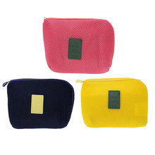 Kit Case Portable Storage Bag  Digital Gadget Devices USB Cable Earphone Pen Travel Cosmetic Insert