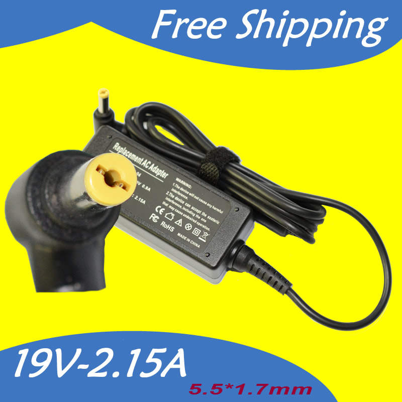 19V 2.15A 5.5*1.7MM 40W Laptop Charger Supply For Acer ...