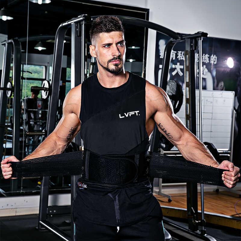 7dae66f594a ... SKDK Men Women Adjustable Elastic Waist Support Belt Lumbar Back  Support Workout Belts Brace Slimming Belt Waist ...