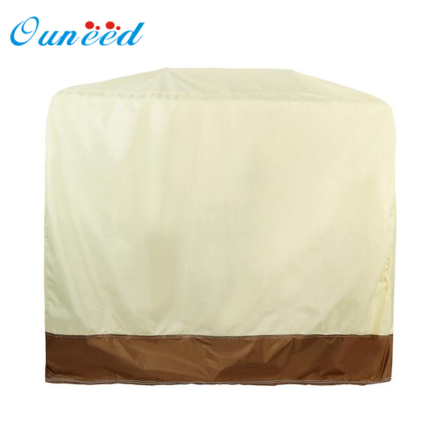 Dust Cover 2017 Hot New BBQ Grill Cover 58 Gas Barbecue Heavy Duty Waterproof Outdoor Weber Beige Garden Patio 17MAY23