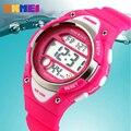2016 Deportes Al Aire Libre Niños Niños Relojes Muchachas Del Muchacho LED Alarma Cronómetro Digital Impermeable del Reloj Niños Reloj de Vestir