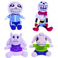 "Fast shipping!30CM12"" Undertale plush Papyrus Undyne Alphys MTT SANS flower Miss Spider Toys Animation Plush Dolls For Kids gift"