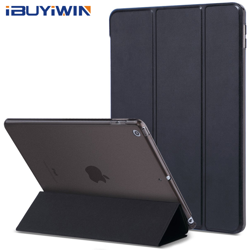 clip case for ipad 2017 - Case for iPad 2018 2017 9.7 6th 5th Generation Case Slim Magnetic Flip Stand PU Leather Smart Cover for iPad Air 1 2 Funda Coque