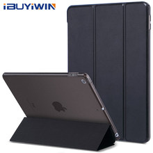 Fall für iPad 2018 2017 9,7 6th 5th Generation Fall Dünner Magnetischer Flip Stand PU Leder Smart Cover für iPad air 1 2 Funda Coque(China)
