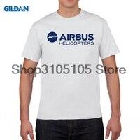 Gildanデザイナーtシャツエアバスヘリコプターロゴ2014 tシャツトップ純粋な綿の男性tシャツ新デザイン高品