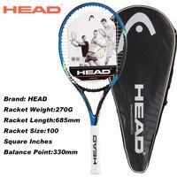Головные теннисные ракетки для мужчин и женщин высшего качества чемпионские ракетки для тенниса противоударные мужские ракетки с сумками
