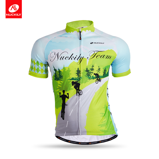 Nuckily summer short sleeve quick dry breathable mountain bike cycling  jersey for men MG003 7ee930a36