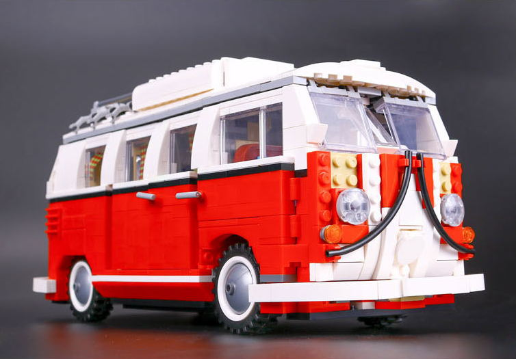 2017 Lepin 21001 Technic series the Volkswagen T1 Camper Van Model Assembling Building Blocks 10220 telecool led light building blocks toy only light set for creator series the t1 camper van model lepin 21001 and brand 10220